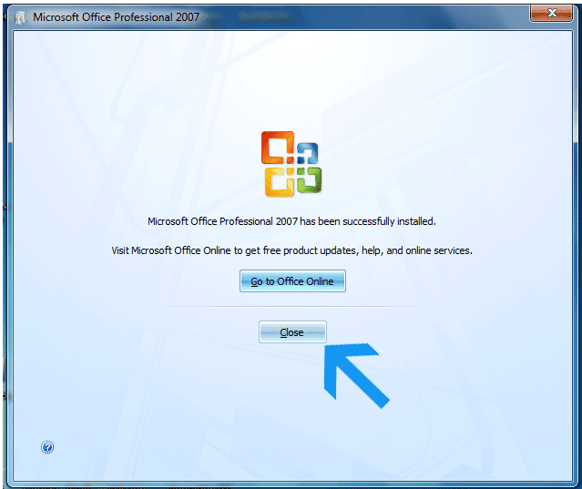 install microsoft office 2007 free online