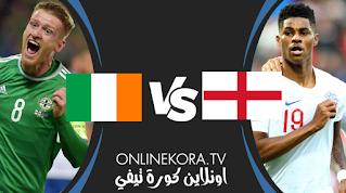 مشاهدة مباراة إنجلترا و إيرلندا الودية بث مباشر اليوم 12-11-2020