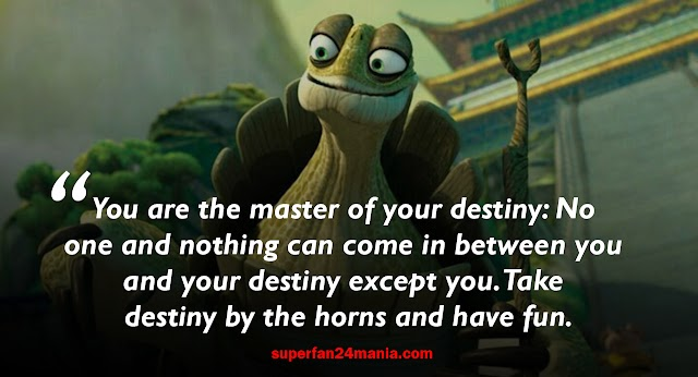 12 Best Oogway Quotes frome Kung fu Panda | Master Oogway Quotes.