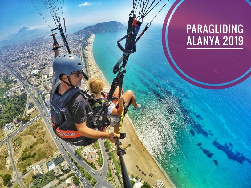 lot paralotnią, Inspiruj Siebie, Apache Tandem Paragliding, Alanya Yaman Tour