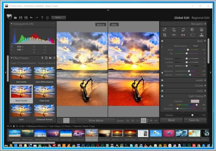 PT Photo Editor : Βελτιώστε, διορθώστε και επισκευάστε τις φωτογραφίες  σας