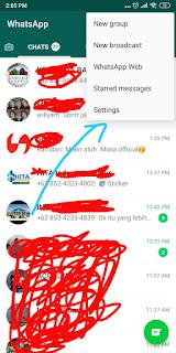 Cara Menghilangkan Tanda Read di WA (Whatsapp)