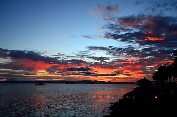 Sunset in Tawau Sabah