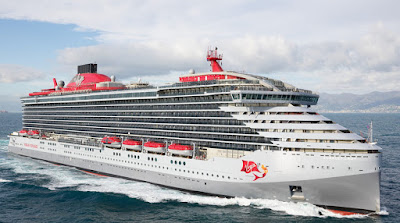 Italy's Fincantieri Delivers Virgin Voyages First Cruise Ship - the Scarlet Lady - Adults only - sailing from Miami