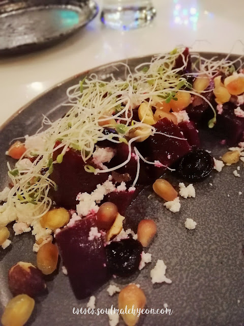 Roasted Beetroot @ The Three By LFJ