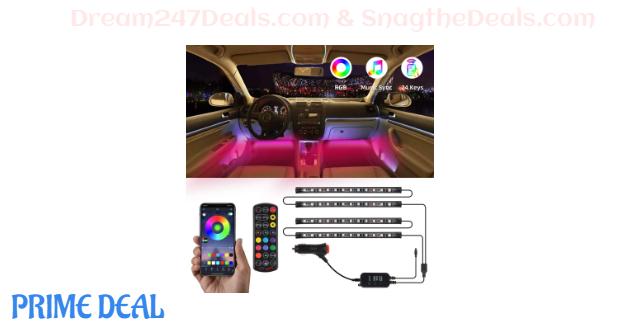50% OFF Interior Car Lights--4 pcs, 48 LED