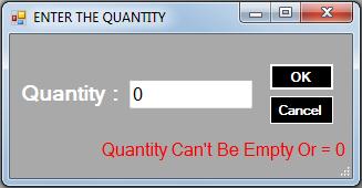 vb.net inventory system - 0 quantity