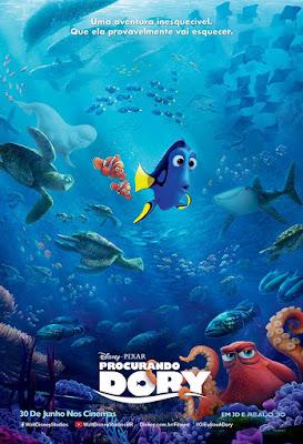 filme procurando dory resenha disney pixar nemo desenho animação nos cinemas em cartaz lançamento trailer vlog opinião recomendação recomendo