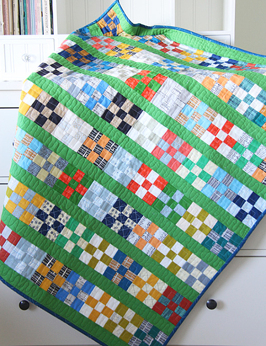 Grassy Doe Quilt designed by Allison Harris of Cluck Cluck Sew