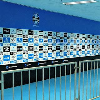 Zona Mista da Arena do Grêmio