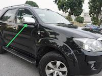Harga Dan Fisik Spion Kanan Toyota Fortuner (2008)