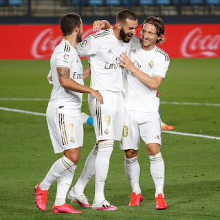 Watch Benzema's wonder volley against Valencia [Video]