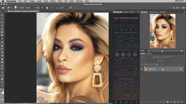 MUA Retouch Panel V1.0 2021 Photoshop Extension