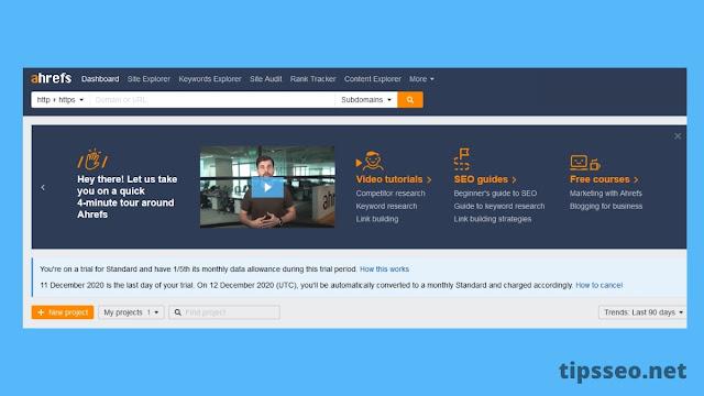 Cara Menggunakan Ahrefs Webmaster Tools