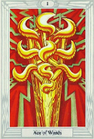 The Ace of Wands, Thoth