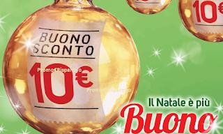 Logo Da Conad il Natale è più economico con i buoni sconto da 10 euro