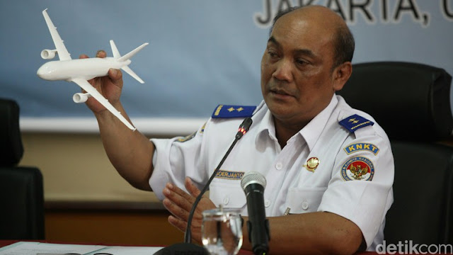 CVR Black Box Sisa Pencarian Lion Air