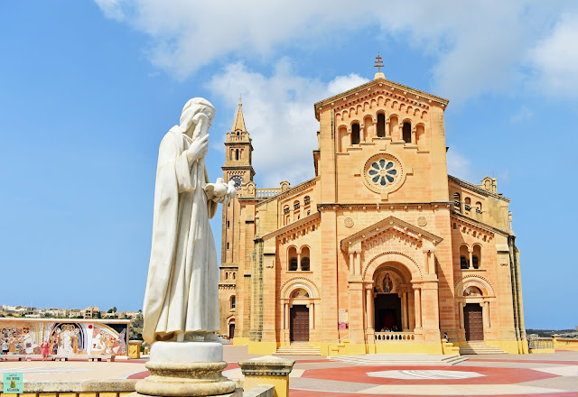Santuario de Ta' Pinu, isla de Gozo (Malta)
