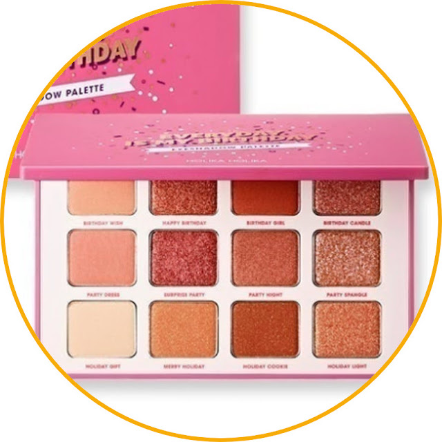 Holika Holika Holiday Piece Matching Palette Menor free with safe colors. For those of you who don't really like experimenting with eyeshadow colors, we highly recommend this product for you. This eyeshadow palette is made up of 12 neutral colors that are easy to mix with any makeup style. This product combines a variety of colors that are safe. So, you don't have to worry about any unused colors in this palette.