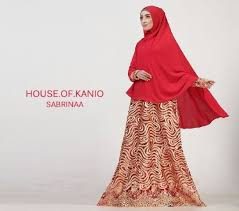 Model Baju Muslim Syar'i Masa Kini