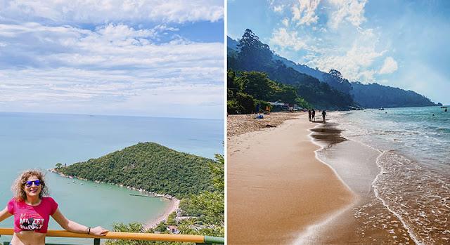 Balneário Camboriú, Praia de Laranjeiras e Trilha Pico da Pedra em Santa Catarina
