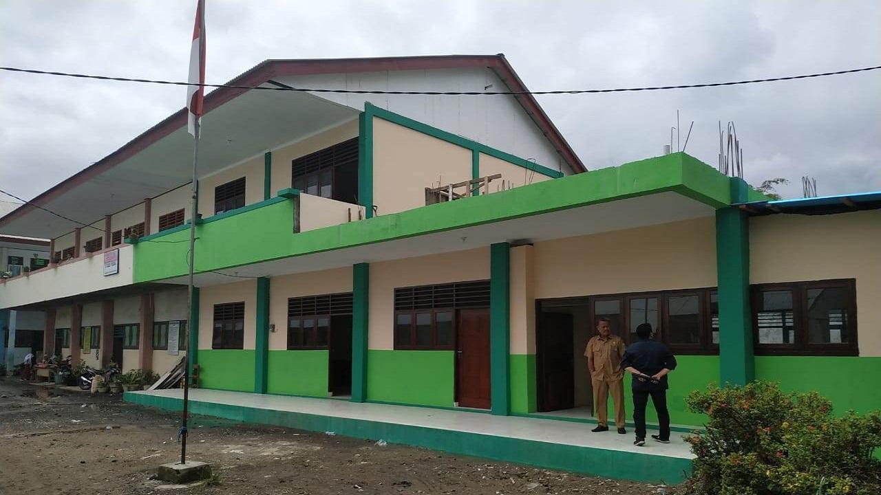 Kading: Ruang Kelas Baru SD Negeri 74 Manado Tinggal Diresmikan