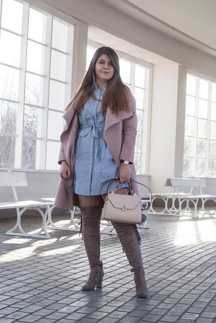 Sukienka Koszulowa Stylizacja