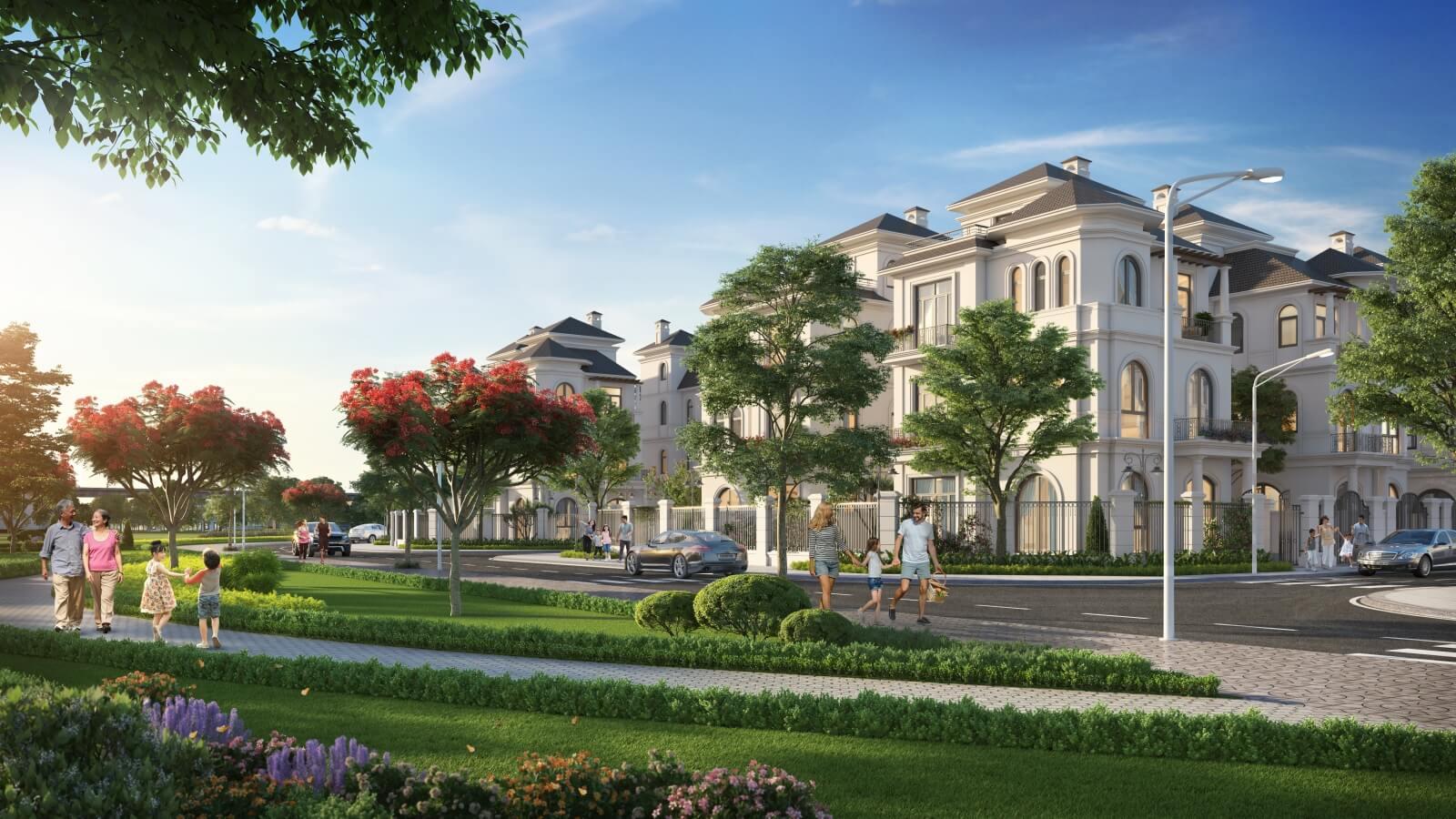 Vinhomes Green Villas - Biệt thự danh giá của giới thượng lưu