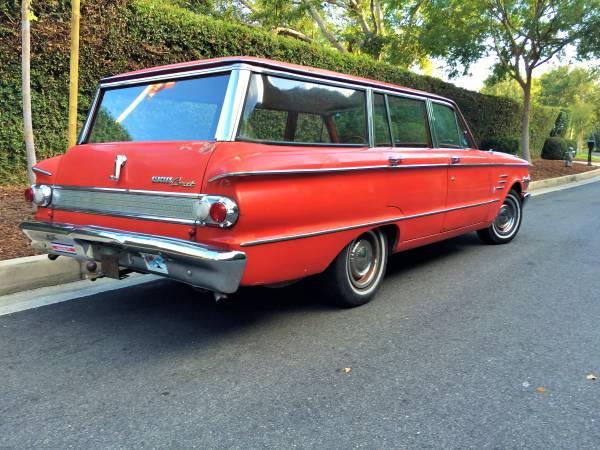 Awesome 1963 Mercury Comet Wagon Auto Restorationice