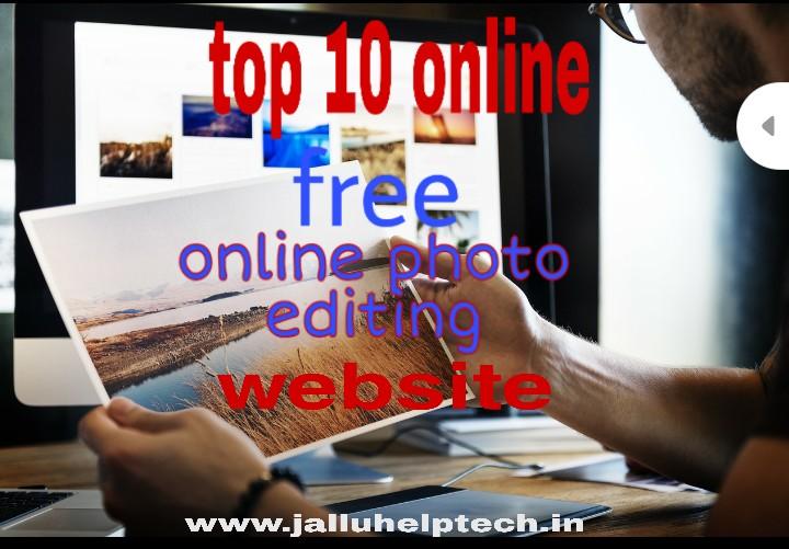 top 10 online photo editing website