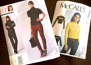 Pattern Covers for Vogue 1411 and McCalls 8003