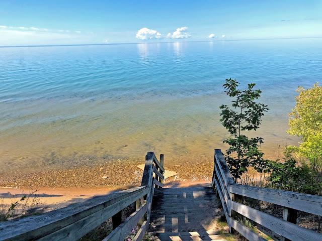 Lake Michigan Upper Penninsula coastline