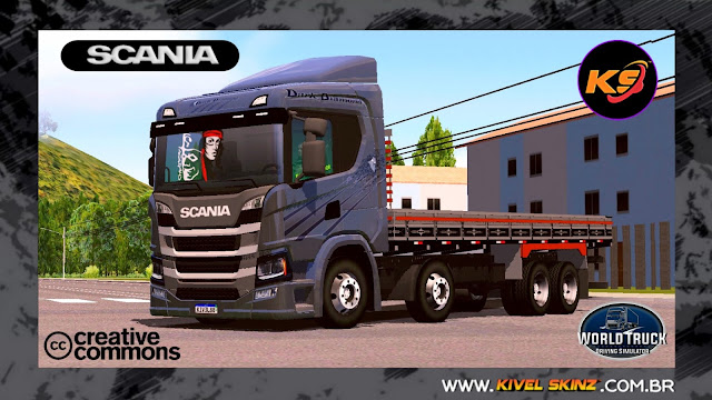 SCANIA P320 - DARK DIAMOND EDITION
