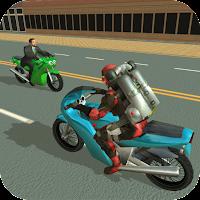 Jetpack Hero Miami Crime Mod Apk