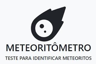 aplicação para testar meteoritos