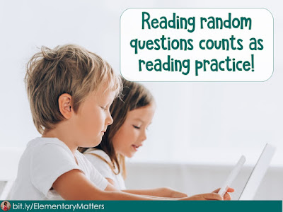 Sometimes my students do activities where they are expected to answer questions, but they haven't been taught the content. How can this be valuable?