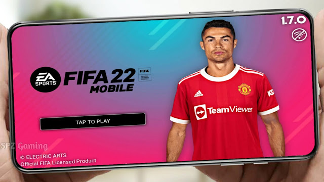 FIFA 22 Mobile Android Offline MOD PS5 900MB New Faces Kits & Last Transfers APK+OBB Best Graphics
