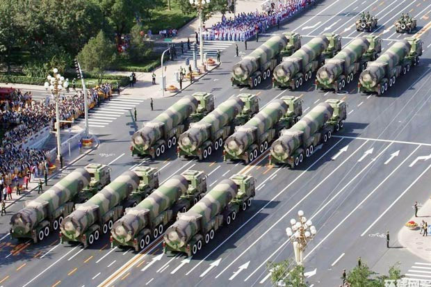 China Uji Coba Rudal Balistik Antar Benua Dongfeng-41
