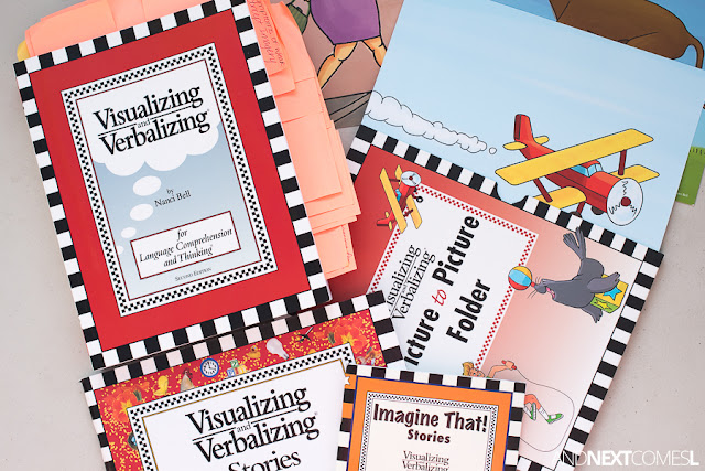 Does Visualizing and Verbalizing work? Read a full review of the Visualizing and Verbalizing kit!