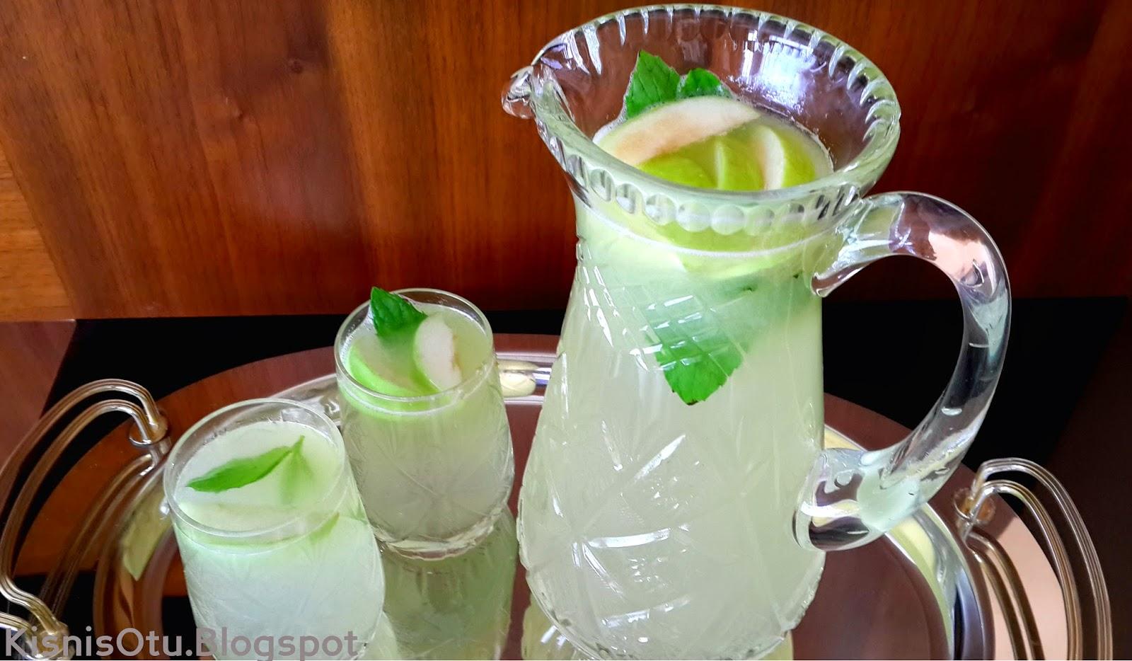limonata tarifi, limonata yapımı, limonata, limon, soğuk içecekler, içecek tarifi