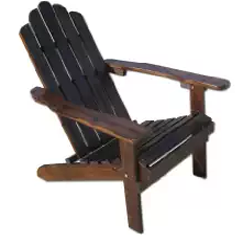 Table in a Bag CCADIR Charcoal Wood Adirondack Chair