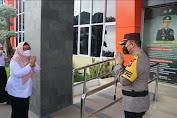 Dipimpin Ning Wabup, Polres Gresik Gelar Apel Pasukan Ops Ketupat Semeru 2021