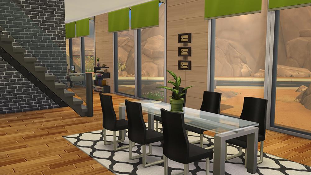 Nice Sims 4 Dining Area