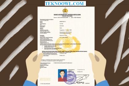 syarat pembuatan skck online polresta pekanbaru
