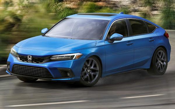 Novo Honda Civic Hatchback 2022: fotos e especificações oficiais