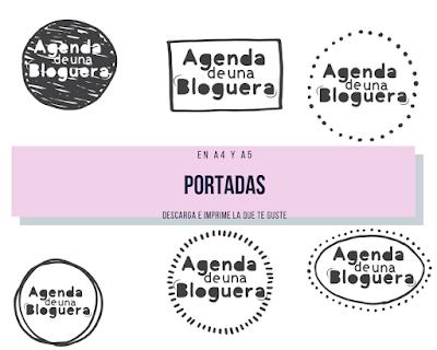 Agenda, blogueras, descargar, PDF, planificadores, métricas, listas