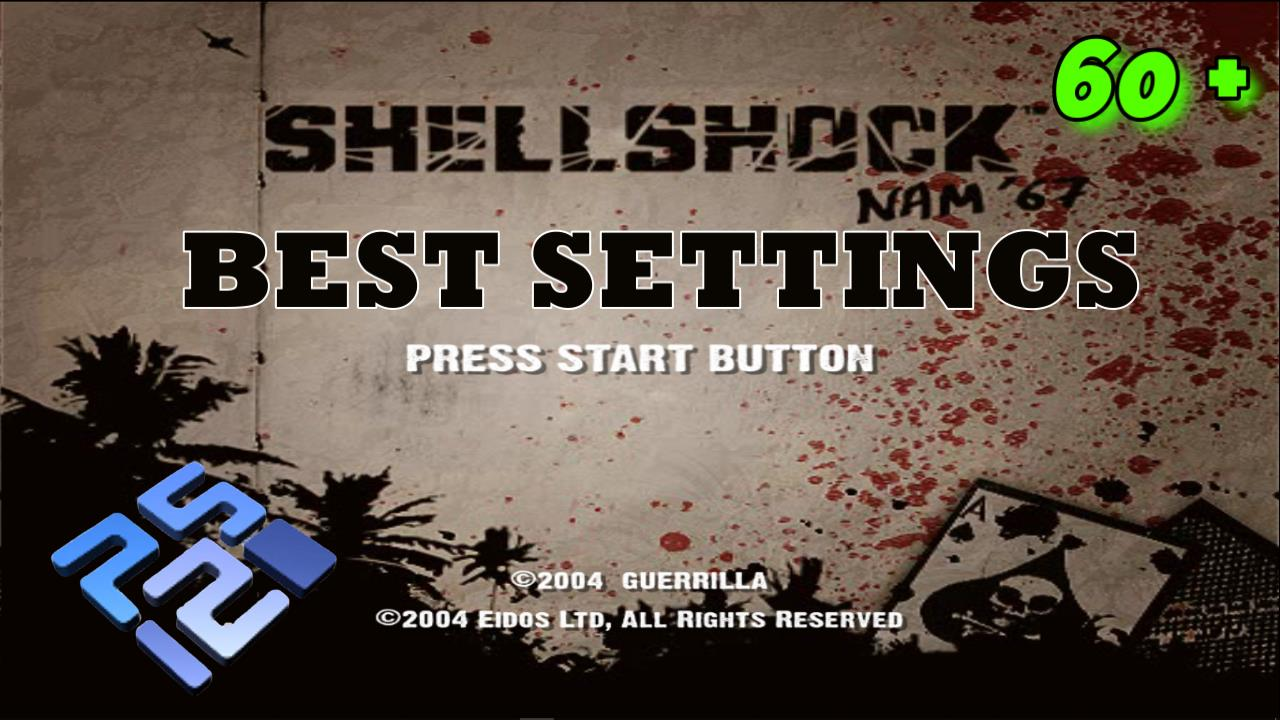 Best Settings for Shellshock Nam '67 PCSX2 (PS2) Low-End Laptop PC