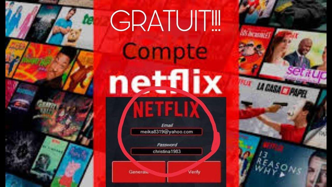 Compte Netflix Gratuit Hack 2020