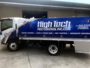 High Tech Pest Truck