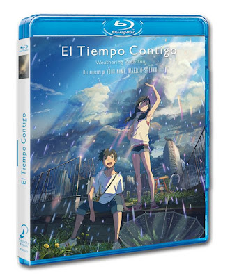 Review del Blu-ray El tiempo Contigo - Tenki no Ko de Makoto Shinkai - Selecta